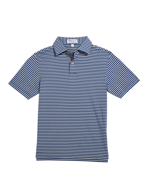 869de83ad174c Boy's Comp Stripe Stretch Jersey Polo Shirt, Size XS-XL