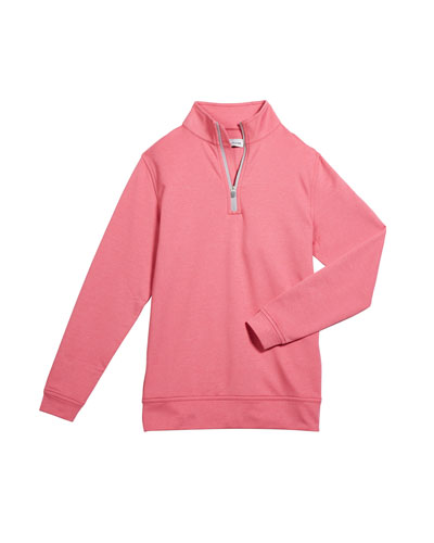 Boy's Perth Performance Quarter-Zip Sweater  Size XS-XL