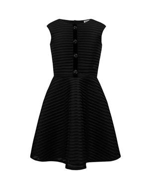 995c753557d306 David Charles Shadow Stripe Sleeveless Dress, Size 10-16