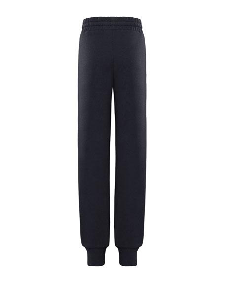 Moncler Block Letter Logo Sweatpants, Size 8-14