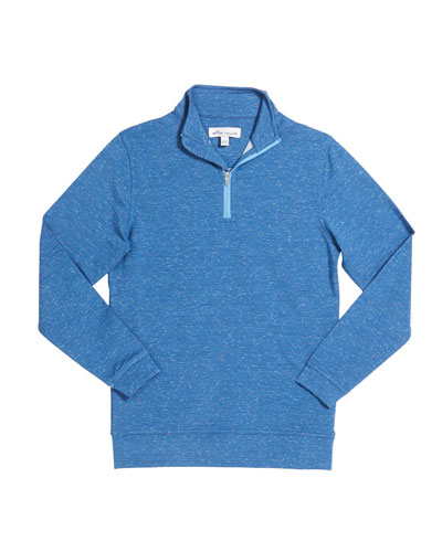 Boy's Perth Performance Quarter-Zip Sweater, Size XS-XL