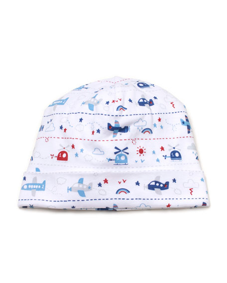 Kissy Kissy Sky Riding Printed Baby Hat