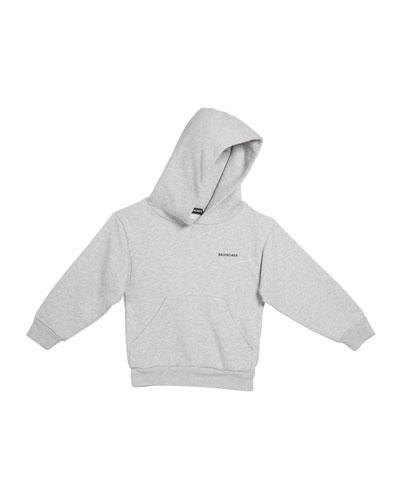 Logo Cotton Hoodie  Size 2-10