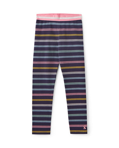 Glitzy Multi-Stripe Leggings  Size 3-12