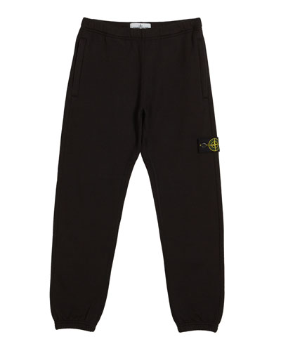Cotton Sweatpants w/ Reflective Tape Trim  Size 2-6