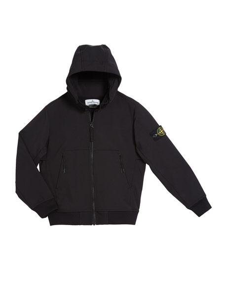 Stone Island Lightweight Techno Hooded Jacket, Size 12