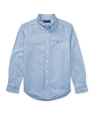b0798efaafd3 Ralph Lauren Childrenswear Cotton Oxford Sport Shirt, Size S-XL