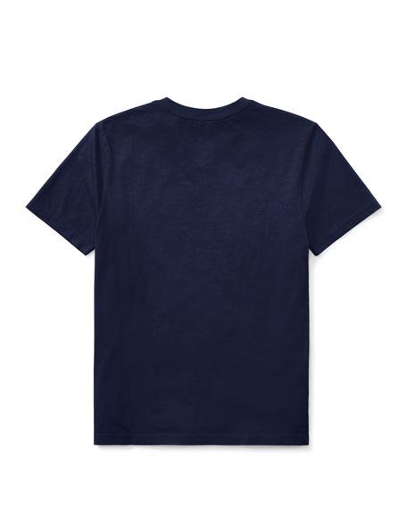Ralph Lauren Childrenswear Short-Sleeve Jersey V-Neck T-Shirt, Size S-XL