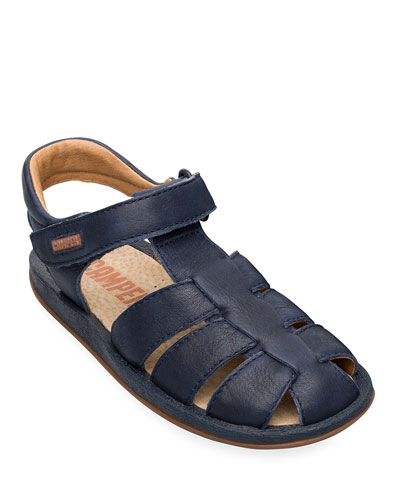 Kid's Leather Caged Sandals  Toddler/Kids