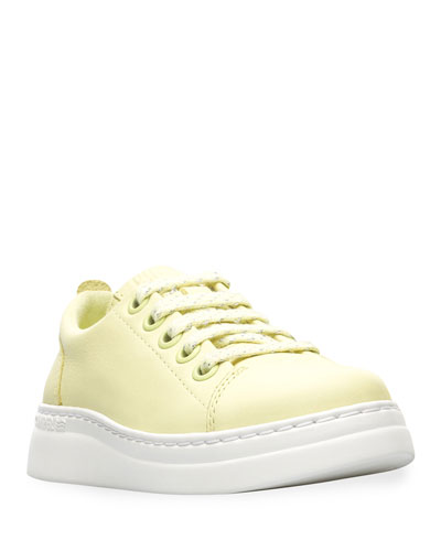 Kid's Leather Sneakers  Toddler/Kids