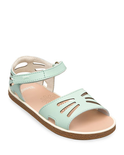Kid's Leather Cutout Sandals  Toddler/Kids
