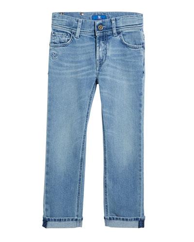 Kids' Denim Sport Trousers  Size 6-12