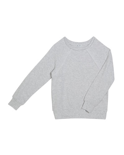 Soft French Terry Sweater  Size 7-14