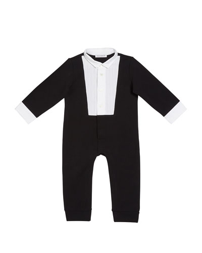 Boy's Tuxedo Coverall, Size 3-24 Months