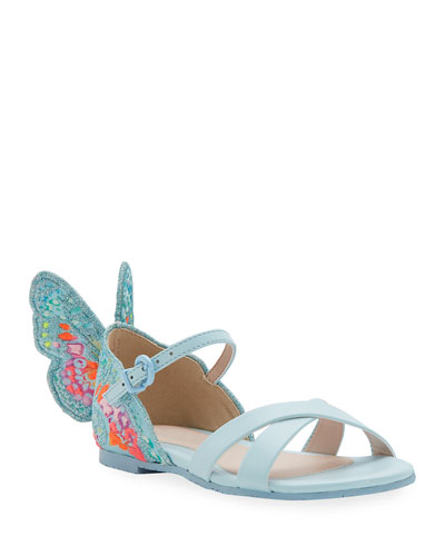 Chiara Embroidered Butterfly Sandals  Toddler/Kids
