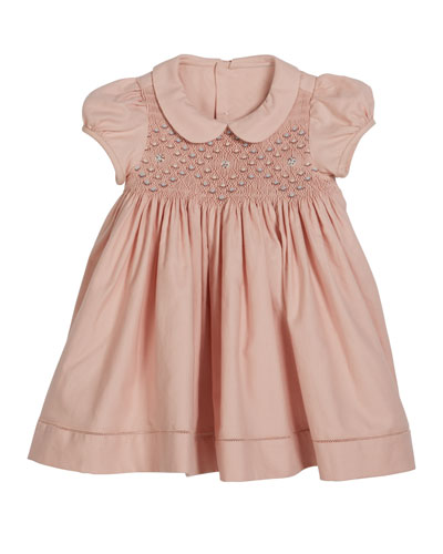 Smocked Short-Sleeve Dress  Size 6-24 Months