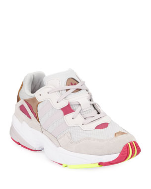 buy popular 8fddc 182fc Adidas Girls  Yung-96 Colorblock Sneakers, ...