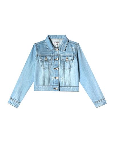 Mini Nalia Distressed Denim Jacket  Size 2-10