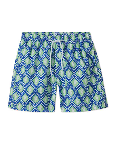 Boys' Sea Horse Swim Trunks  2-12