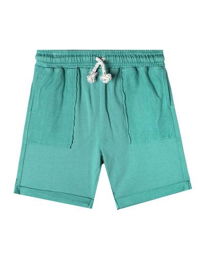 Drawstring Bermuda Shorts  Size 2-10