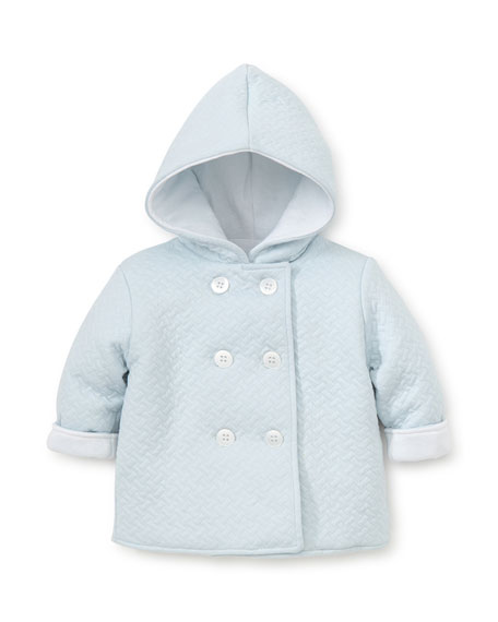 Kissy Kissy Hooded Jacquard Jacket, Size 3-18 Months