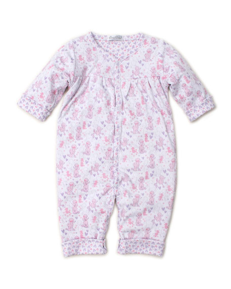 Kissy Kissy Oodles of Poodles Printed Coverall, Size 3-24 Months