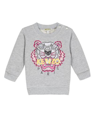 Signature Tiger Sweatshirt  Size 6-18 Months