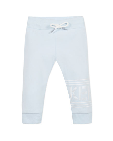 Kenzo Drawstring Logo Sweatpants, Size 6-18 Months