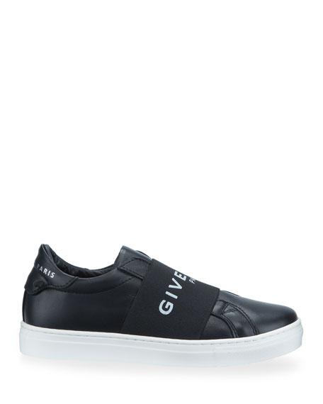 Givenchy Urban Street Logo Sneakers, Toddler