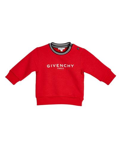 Boy's Logo Sweatshirt  Size 12M-3