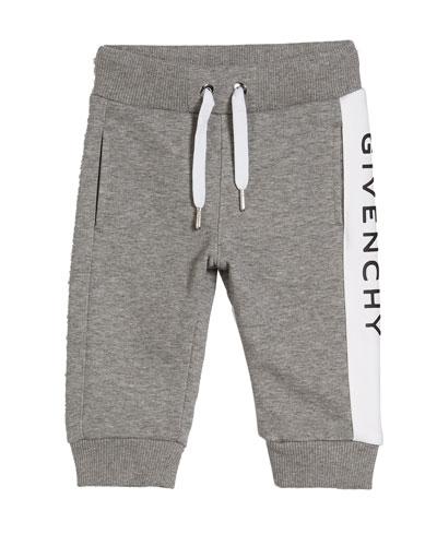 Boy's Logo Trim Sweatpants  Size 12M-3