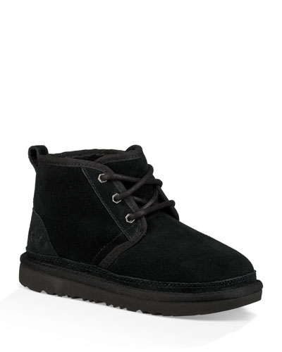 Neumel Suede Lace-Up Boots, Kids