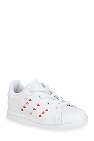 Adidas Stan Smith Heart Sneakers, Baby/Toddler