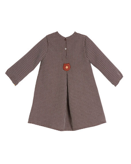 Image 2 of 2: Girls' Felted Bear Dress, Size 2T-6