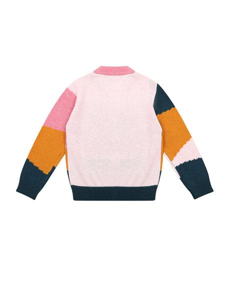 Velveteen Meredith Colorblock Sweater, Size 8-12