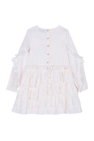 2T-4T Black White Hudson Baby Girls Cotton Rich Tights