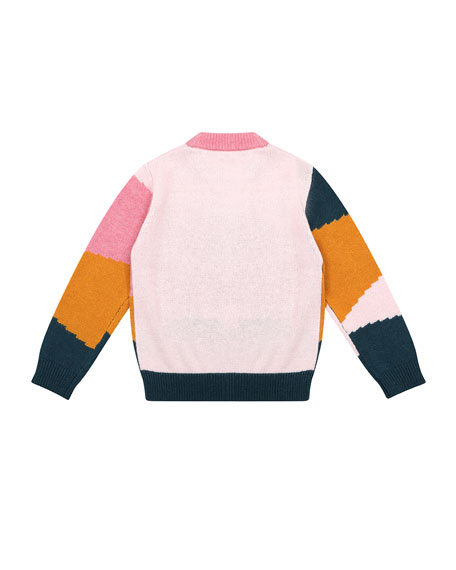 Velveteen Meredith Colorblock Sweater, Size 6-8