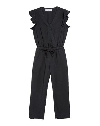 Ruffle Sleeve Jumpsuit  Size 8-14