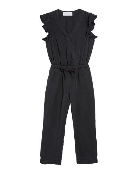 Bella Dahl Ruffle Sleeve Jumpsuit, Size 8-14