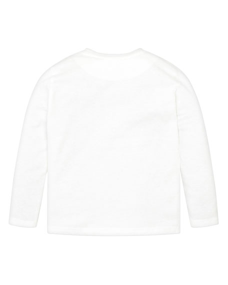 Mayoral Boy's Graphic Bear Long-Sleeve Tee, Size 4-8
