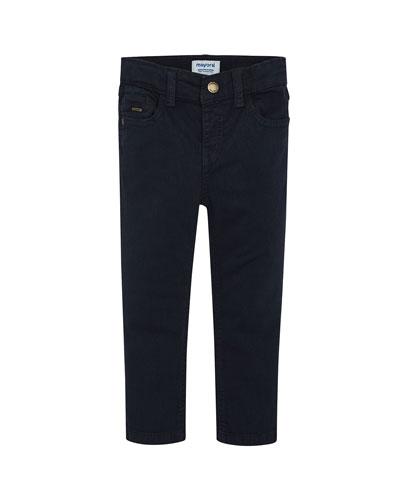Boy's Basic Slim Fit Pants  Size 4-8