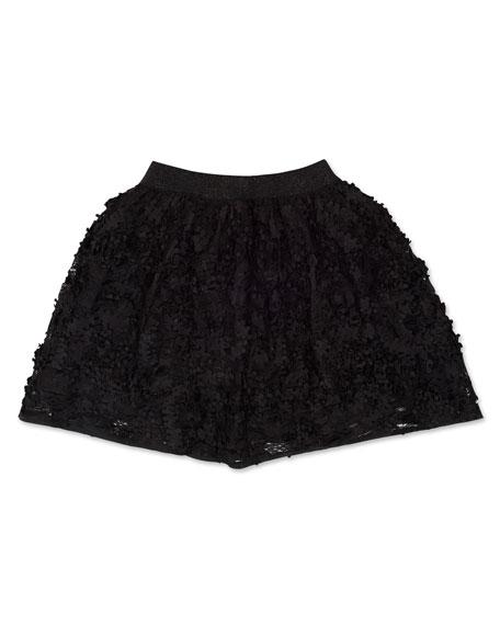 Mayoral Girl's 3D Petals Skirt, Size 8-16