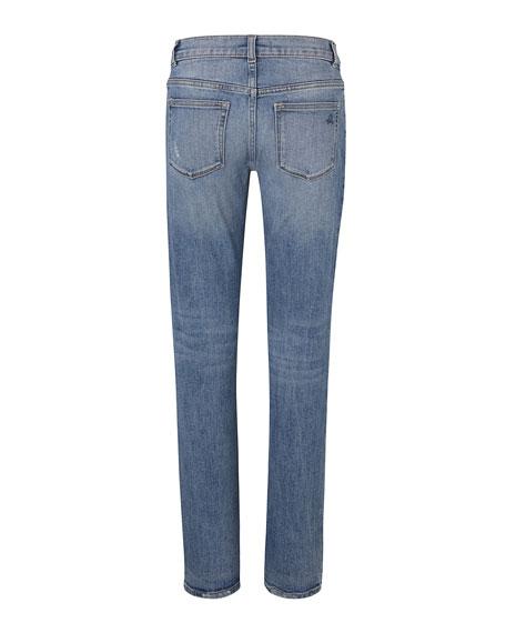 DL 1961 Boys' Hawke Skinny Ripped Straight-Leg Jeans, Toddler Sizes