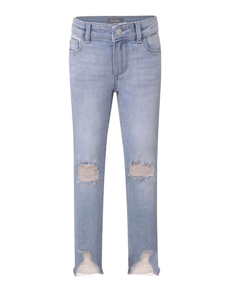 DL 1961 Chloe Distressed Skinny Jeans, Size 2-6