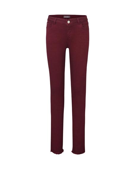 DL 1961 Girl's Chloe Colored Denim Skinny Jeans, Size 7-16