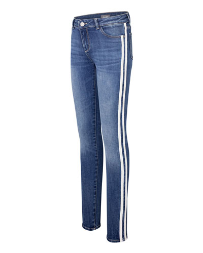 Chloe Denim Skinny Jeans w/ Side Striping  Size 2-6