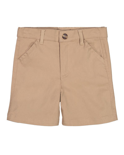 Cotton Twill Shorts  Size 8-14
