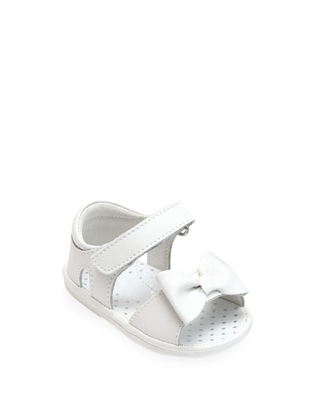 L'Amour Shoes Bessie Bowed Sandals, Baby/Toddler