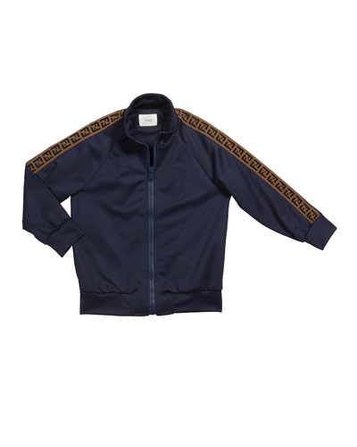 Kid's Track Jacket w/ FF Taping, Size 4-8