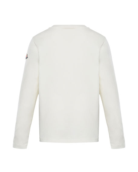 Image 2 of 2: Moncler Long-Sleeve Graphic T-Shirt, Size 8-14